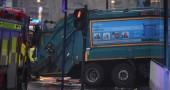 Glasgow, camion della spazzatura travolge e uccide sei persone
