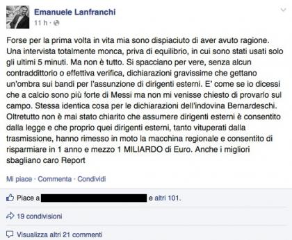 nicola zingaretti Report 1
