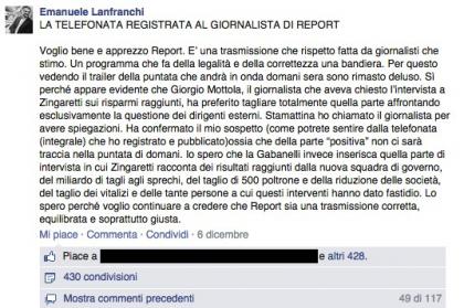 nicola zingaretti Report 2