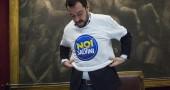 Matteo Salvini presenta il nuovo simbolo per il sud Italia