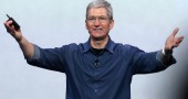 6. Tim Cook, che quest'anno ha presentato gli iPhone 6 e iPhone 6 Plus e ha fatto coming out (Justin Sullivan/Getty Images)