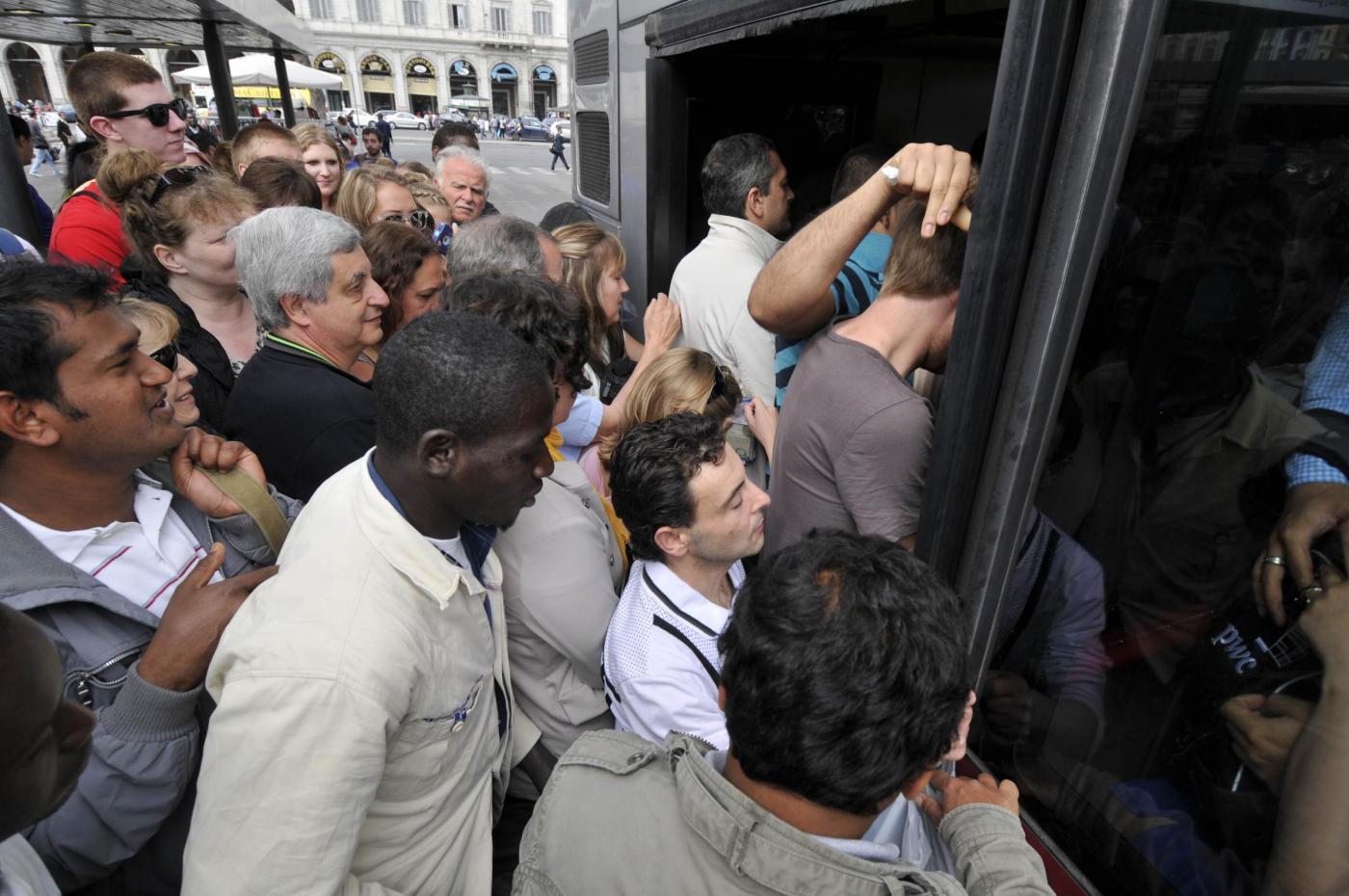 12 dicembre 2014 sciopero roma