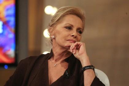 Virna Lisi ospite del Maurizio Costanzo Show (2007) Foto: Vincenzo Coraggio/LaPresse)