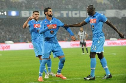 Napoli - Juventus Campionato di Calcio Serie A TIM 2014 2015 - Stadio San Paolo