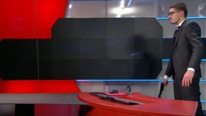 Attacco con pistola alla TV olandese NOS