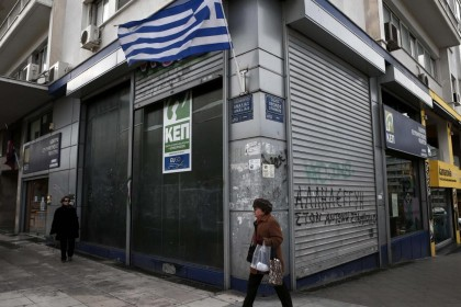 Centro di Atene. REUTERS/Alkis Konstantinidis