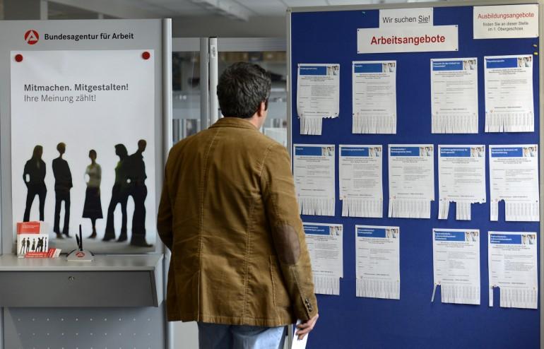 Disoccupati in cerca di lavoro in Germania