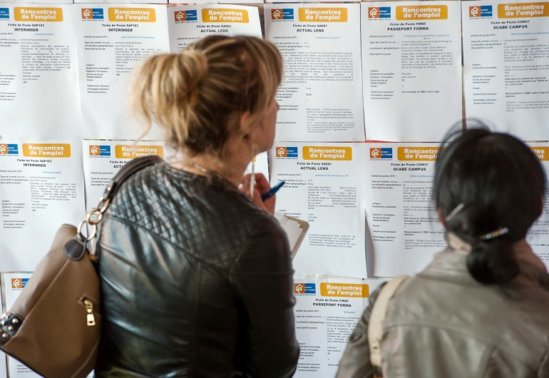 Disoccupate in Francia