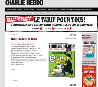 Photocredit: charliehebdo.fr