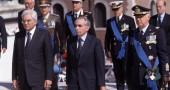 Sergio Mattarella e Giuliano Amato. Foto di Mauro Scrobogna da archivio LaPresse