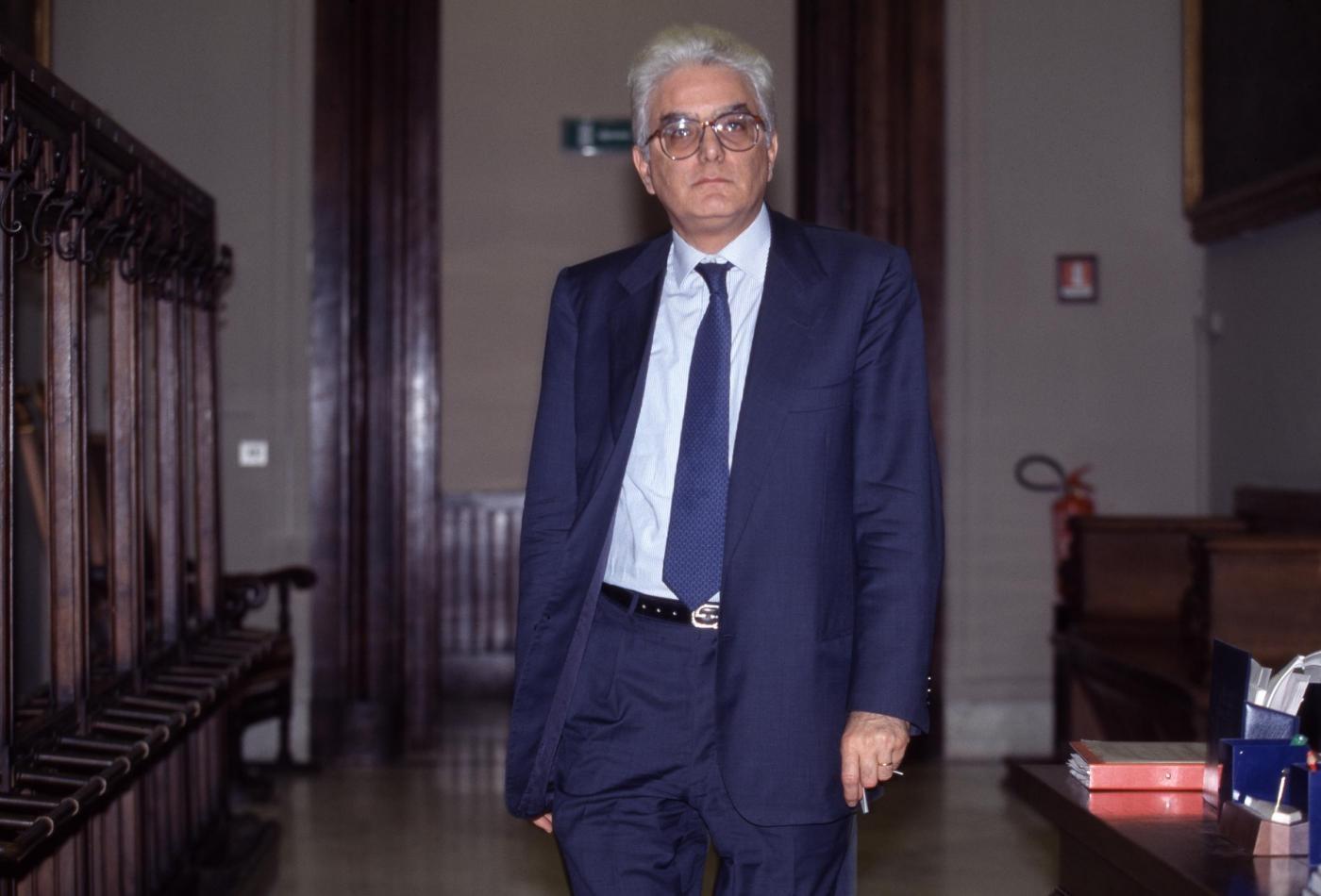 Sergio Mattarella. Foto di Mauro Scrobogna da archivio LaPresse