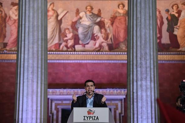Elezioni in Grecia, Alexis Tsipras festeggia la vittoria
