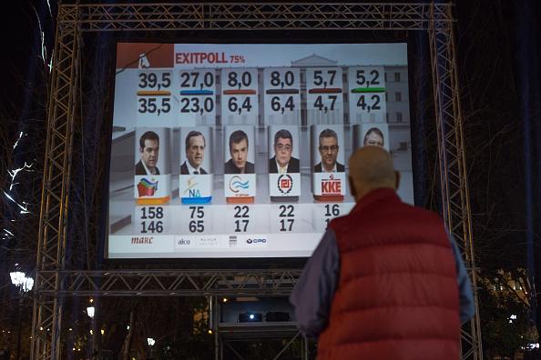 Elezioni in Grecia, i primi dati in TV