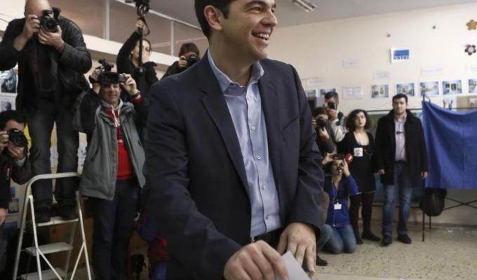 Elezioni Grecia, Alexis Tsipras al voto