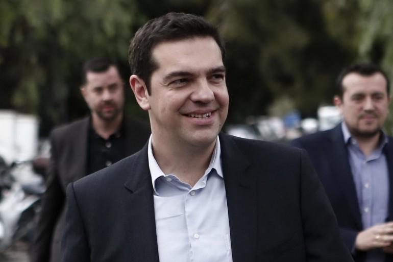 Elezioni in Grecia, Alexis Tsipras al voto