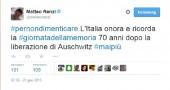 Twitter/Matteo Renzi