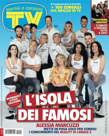 La copertina di Tv Sorrisi e Canzoni, in edicola oggi