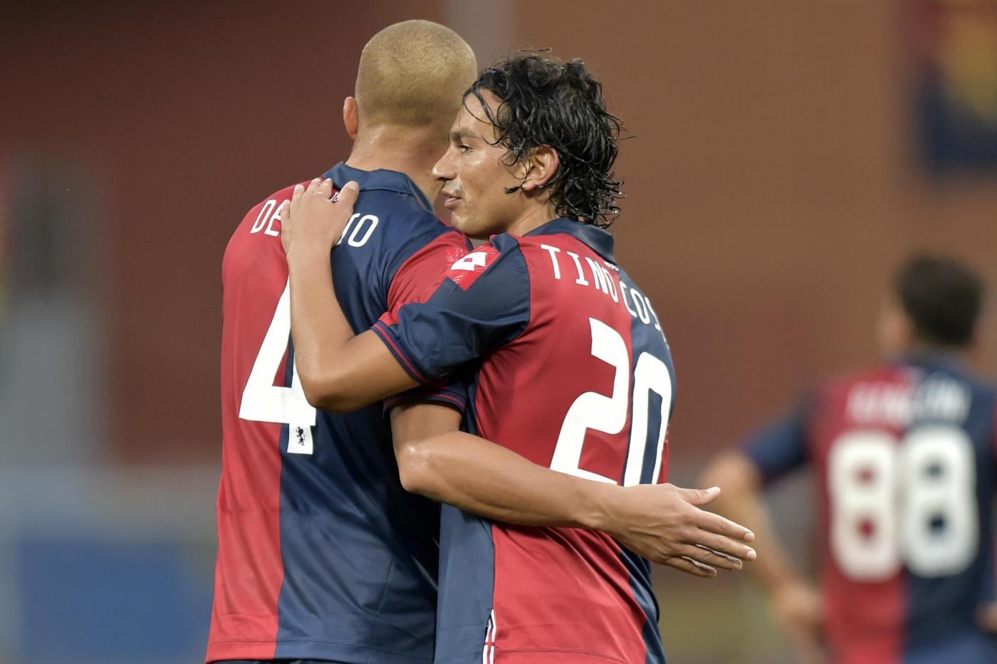 NAPOLI-GENOA (RISULTATO 0-0), La diretta Serie A