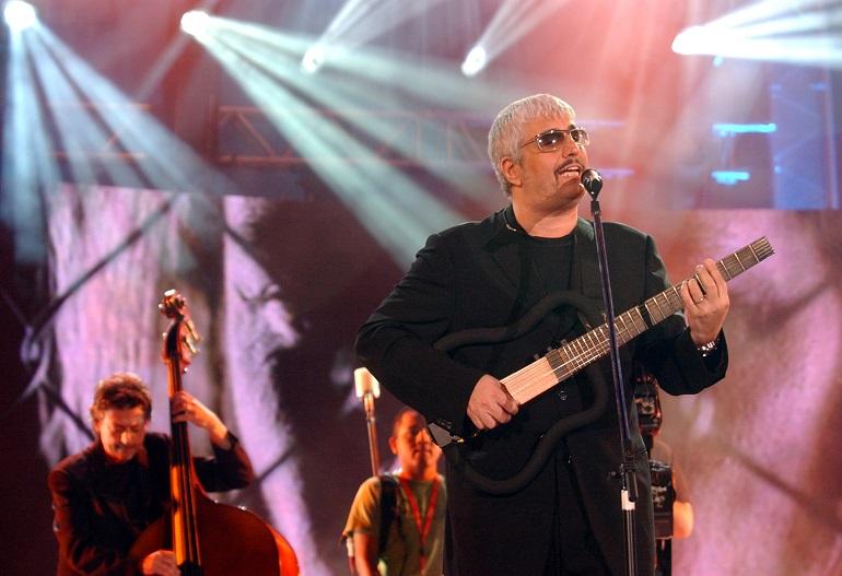 Pino Daniele al Festivalbar (2004) Foto: Giuseppe Cacace/Getty Images Entertainment