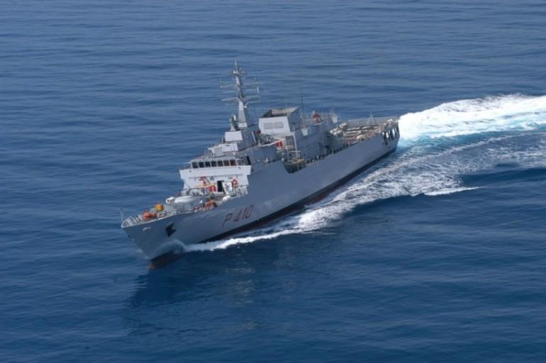 La Orione, il pattugliatore della Marina Militare