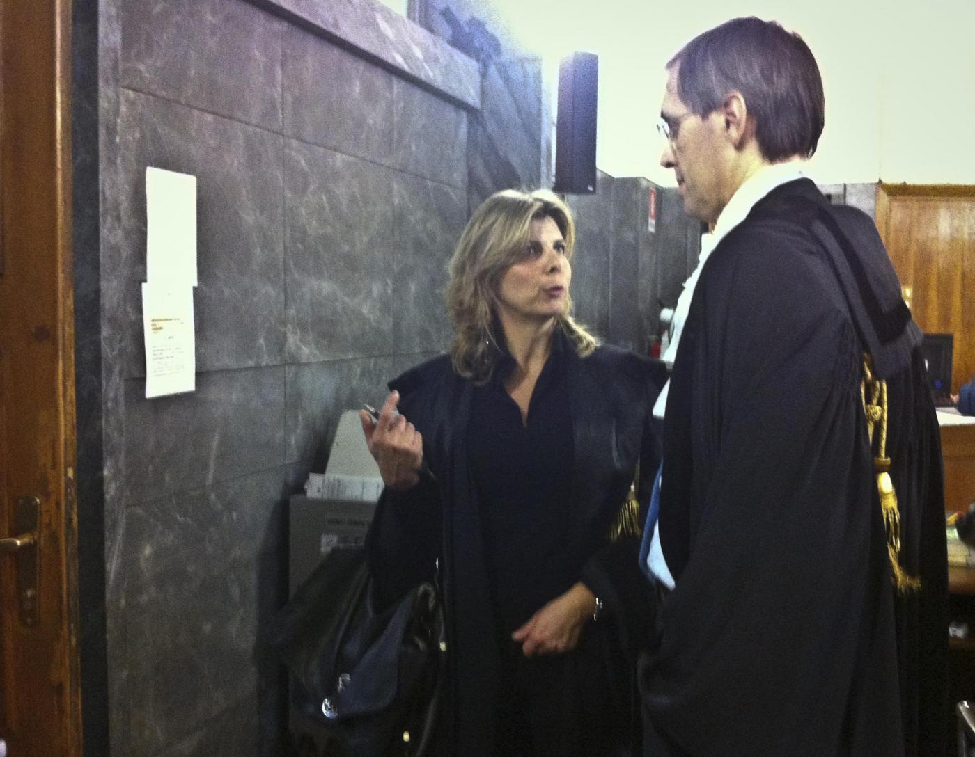 karima El Mahroug in arte Ruby Rubacuori al processo contro Silvio Berlusconi