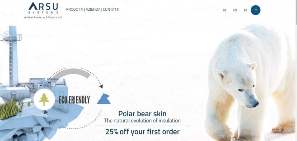 La bufala della pelle d'orso bianco usata come isolante edile