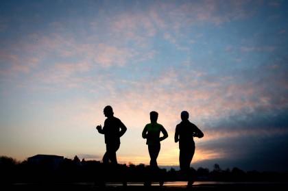 correre in compagnia