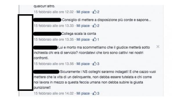 Detenuto si uccide in carcere, gli agenti esultano su Facebook