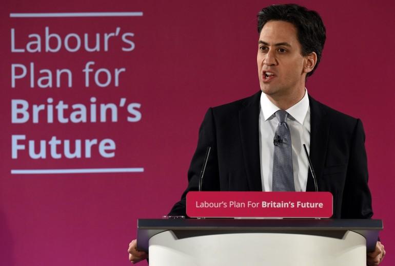 Ed Miliband, leader del Labour