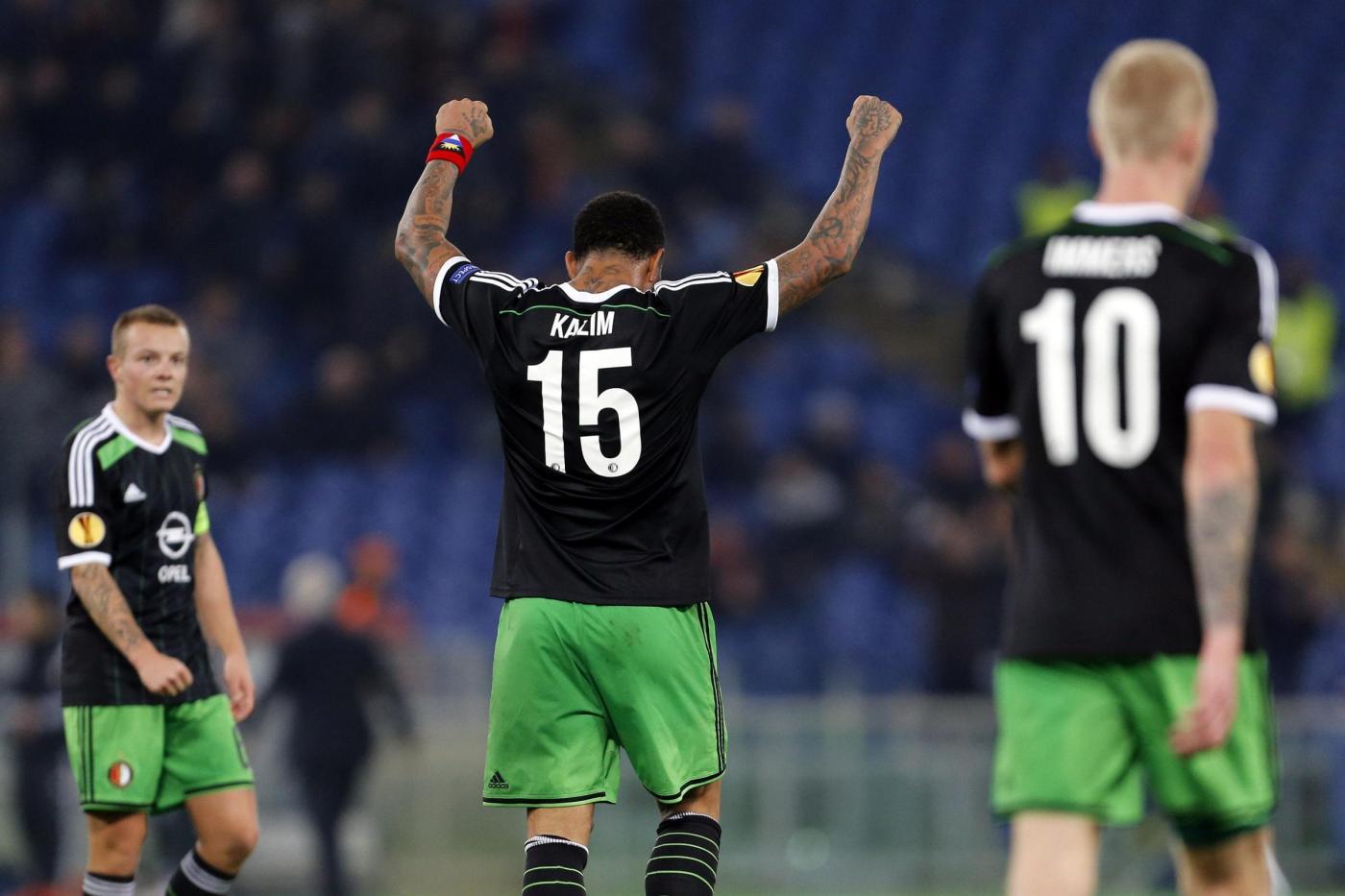 FEYENOORD-ROMA (RISULTATO 0-0), La diretta|Europa League
