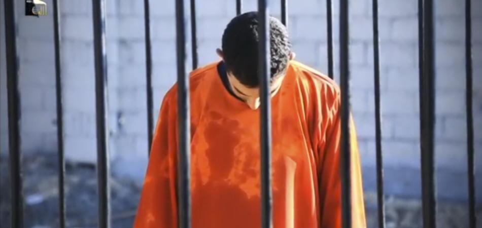 I prigionieri uccisi dall'Isis