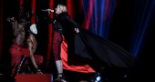 madonna cade ai brit awards 2015