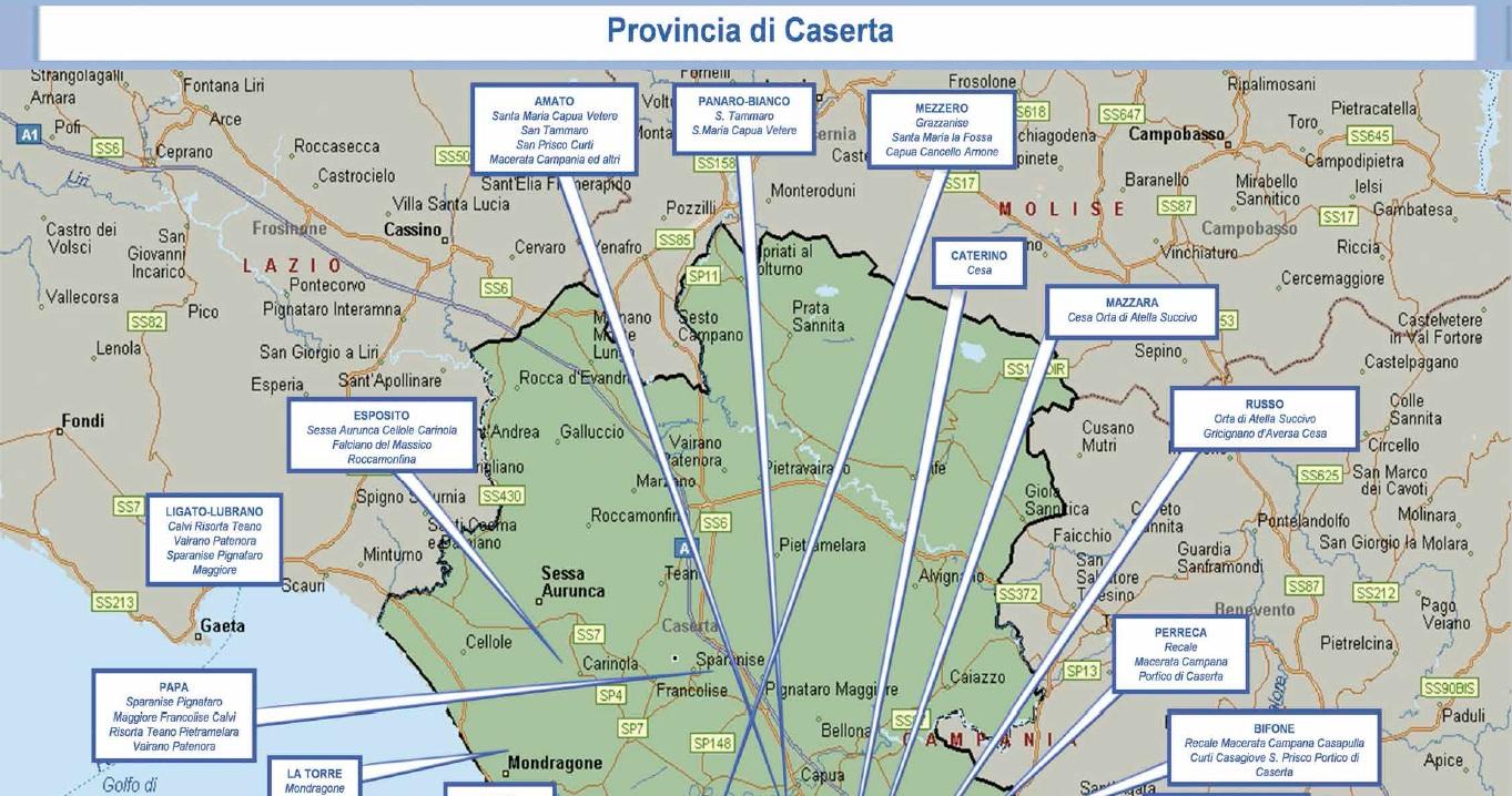 mappa camorra 06 caserta