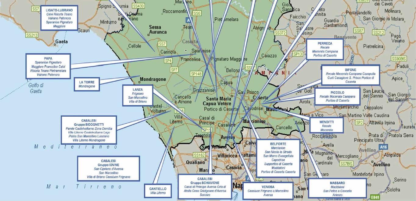 mappa camorra 07 caserta