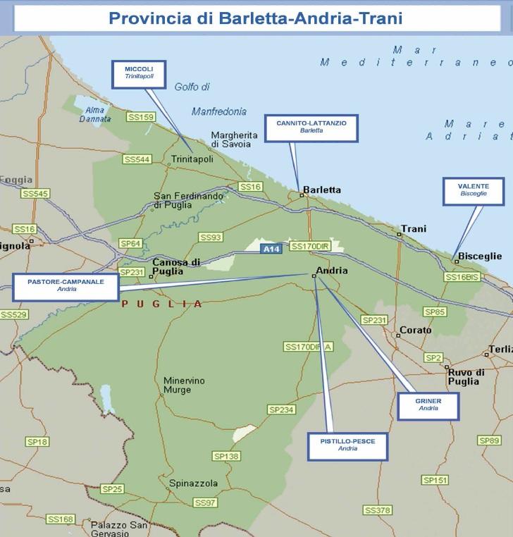 mappa mafia 14 bat barletta andria trani