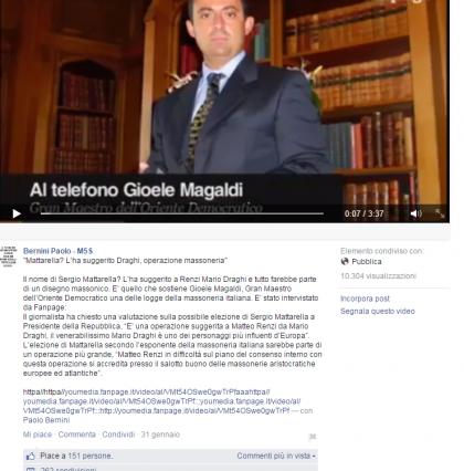 click sull'immagine per ingrandire - Facebook/Bernini Paolo - M5S