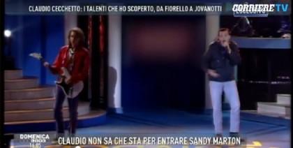 Photocredit: Mediaset/Domenica Live - via Corriere della Sera
