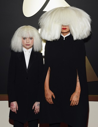 Sia e Maddie Ziegler (Foto: Larry Busacca/Getty Images Entertainment)