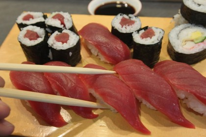 sushi fa ingrassare