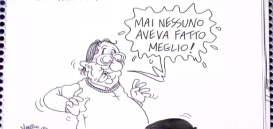 vignetta vauro marchionne renzi