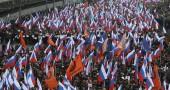Mosca, marcia per commemorare Boris Nemtsov
