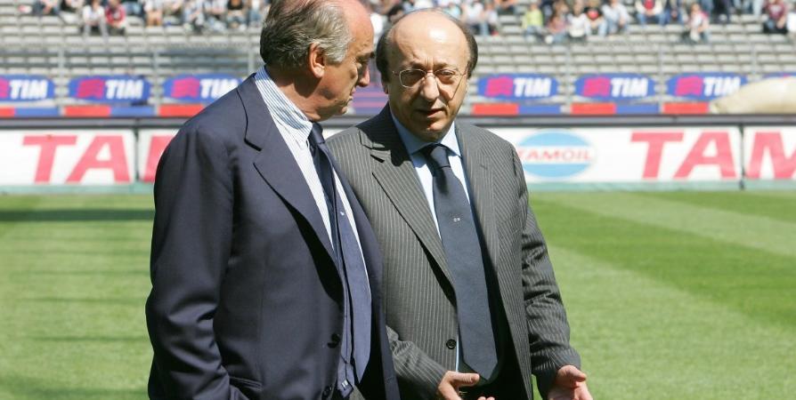 Luciano Moggi Antonio Giraudo Calciopoli