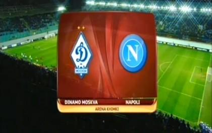 Dinamo Mosca-Napoli diretta