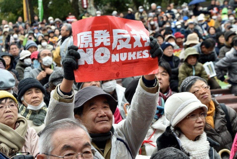 JAPAN-NUCLEAR-DISASTER-RALLY