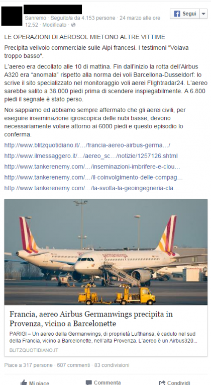 airbus germanwings complottismo 1