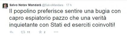 Twitter/SalvoMandara