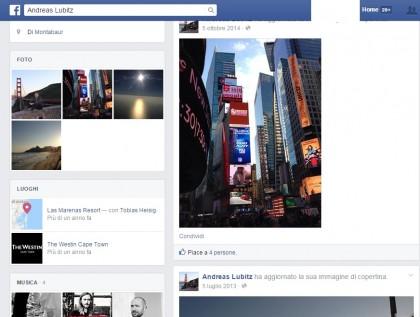 andreas lubitz il profilo facebook