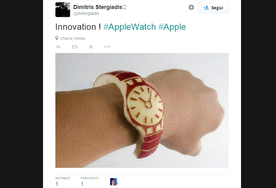 Apple Watch diventa un meme
