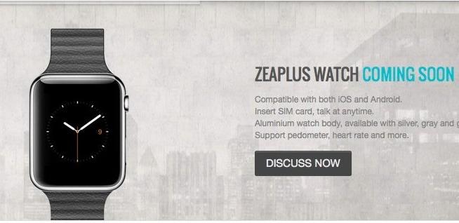 Il tarocco di Apple Watch