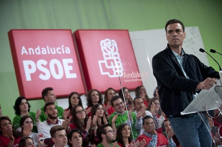 Pedro Sanchez, rivale di Albert Rivera di Ciudadanos